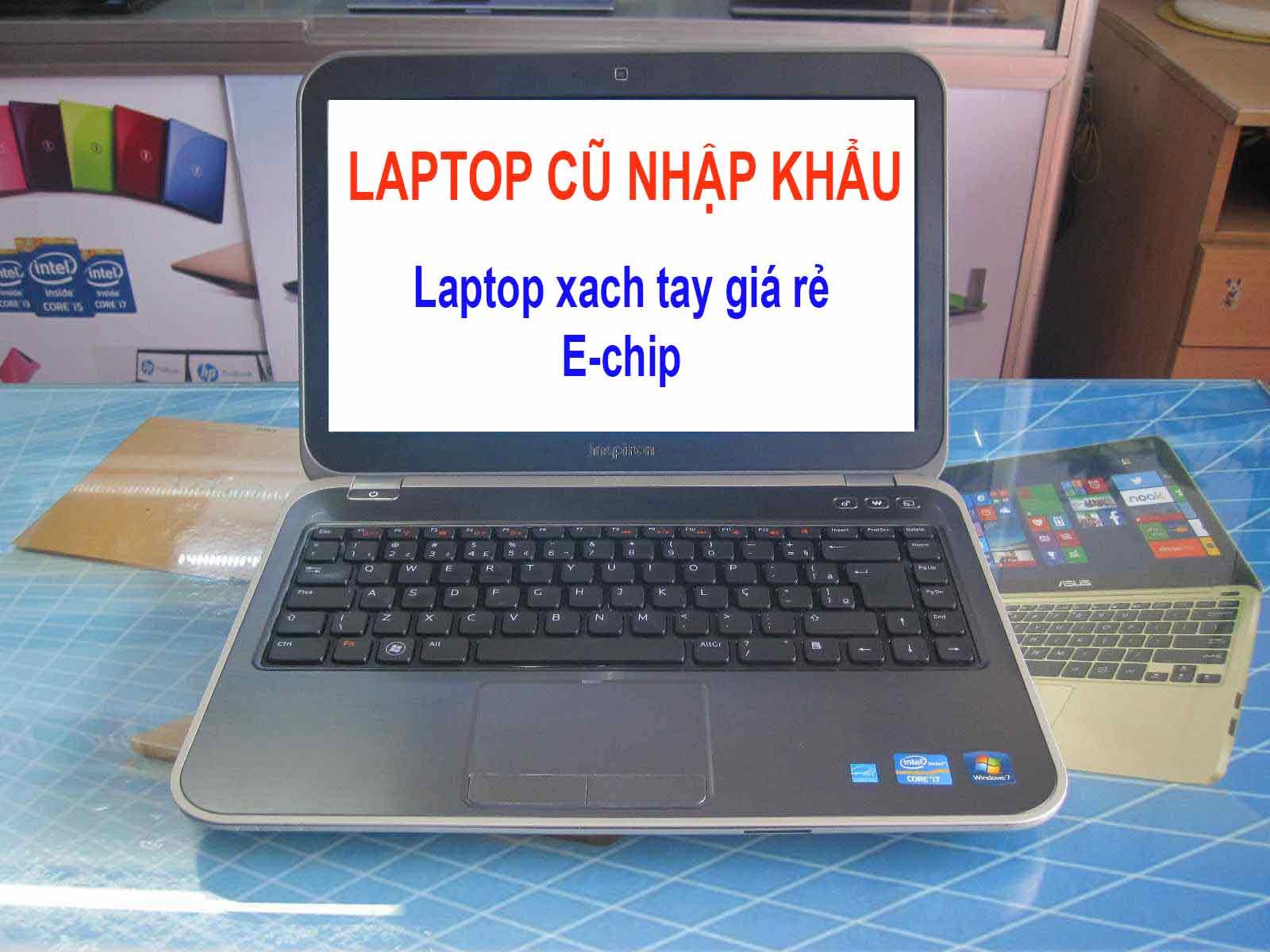 laptop cũ nhập khẩu