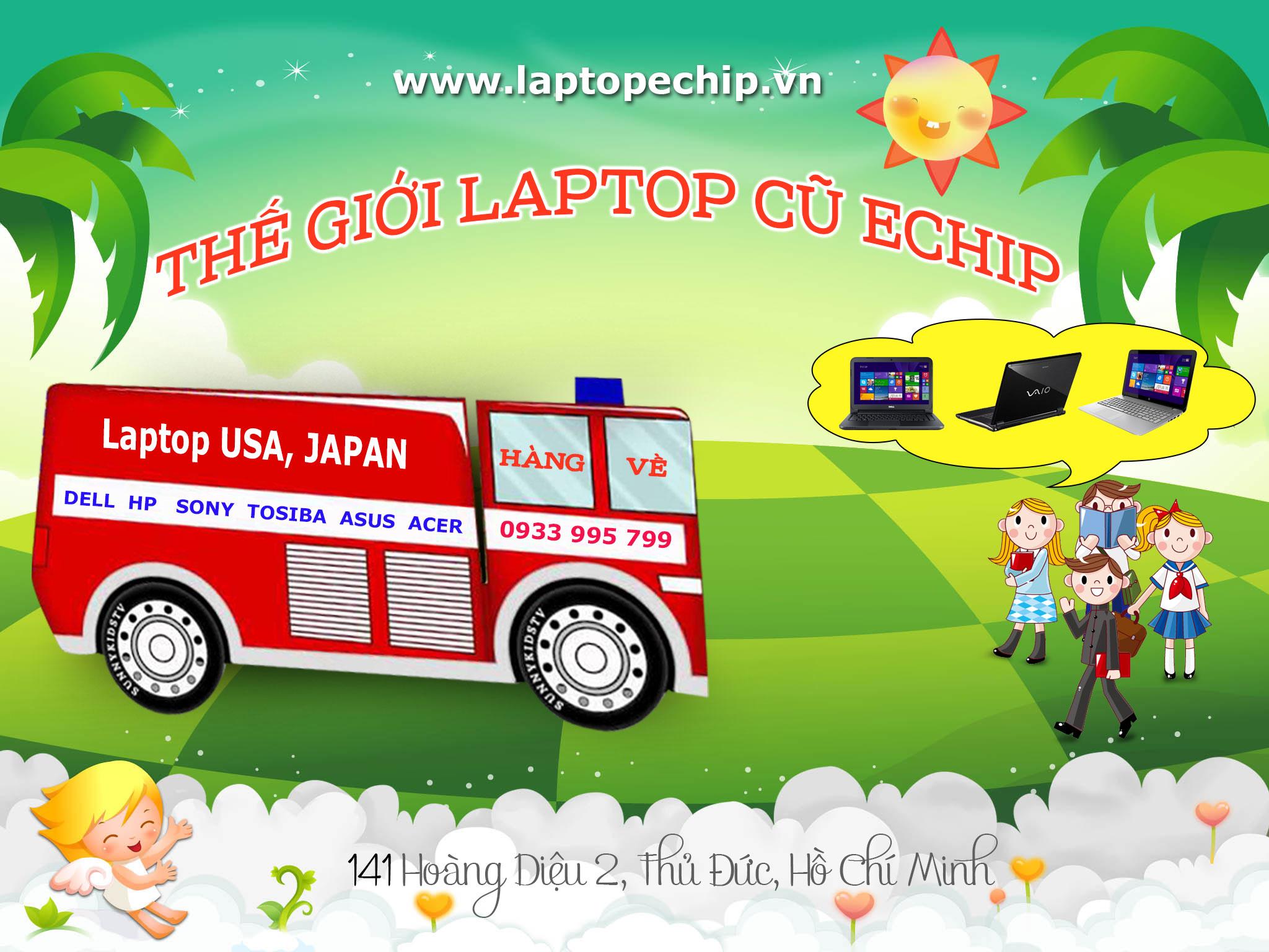 Laptop cũ E-CHIP