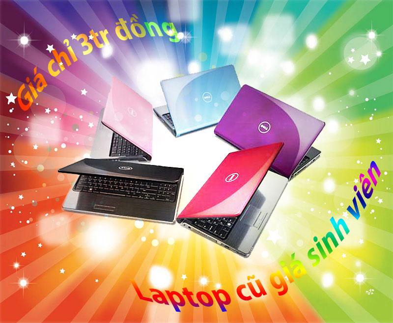 laptop cũ giá 3tr