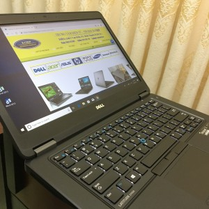 DELL Latitude E7450 i5-5300U/Ram 8G/SSD 256GB/Màn Hình 14.0inch Full HD / Hàng nguyên bản USA