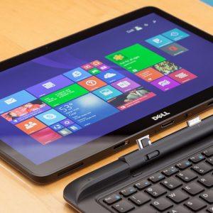 DELL 7350 Laptop 2-in-1 ;Intel Core M5Y71/ Ram 8GB/ SSD 256/Màn hình 13 FHD(1080) tháo rời làm máy tính bảng