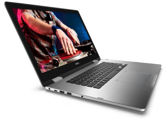 Dell Inspiron 15 7000 Series (Model 7569) 2-in-1 Touch notebook computer, codename Starlord.