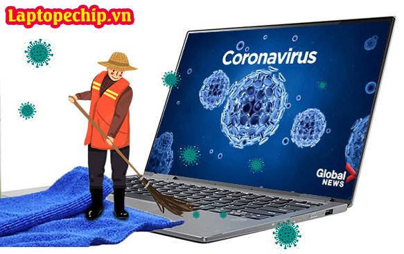 Vệ sinh laptop mùa dịch covid-19
